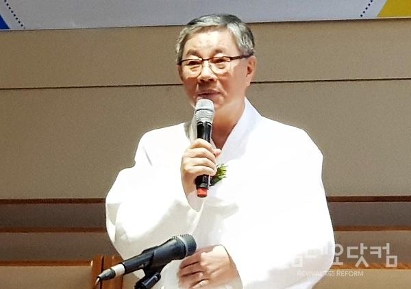 김윤하 목사(참빛교회 원로)/ 사진@코닷 자료실